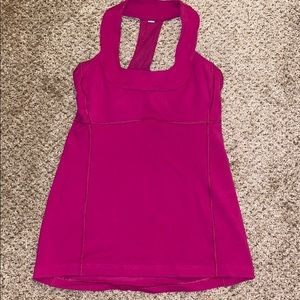 Lululemon Tank w/ sports bra